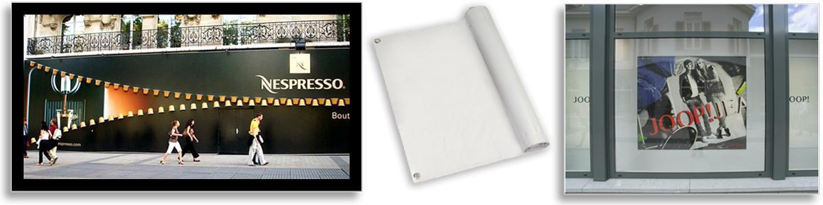 PVC Banner Material 440gsm Frontlit White